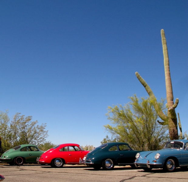 Parking at the Desert Museum