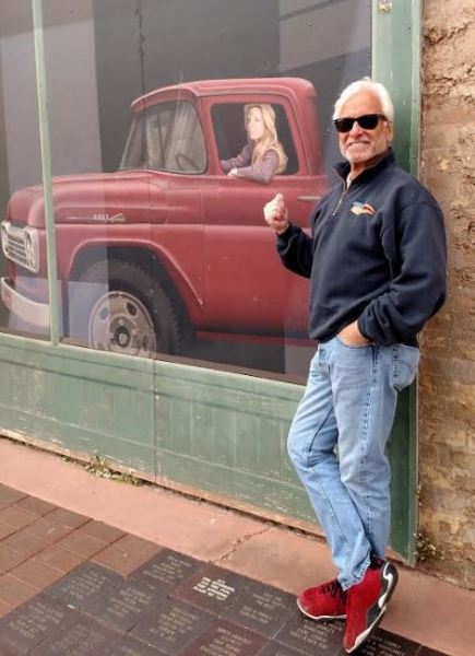 Standin on a corner in Winslow, AZ...
